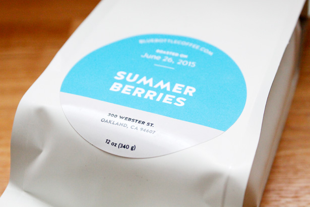 ブルーボトルコーヒーのSUMMER BERRIES