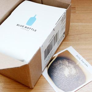 今月(2015年8月)届いたブルーボトルコーヒーのブレンドは『Bella Donovan』