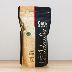 おみやげに貰ったメキシコ チアパスのオーガニックコーヒー。