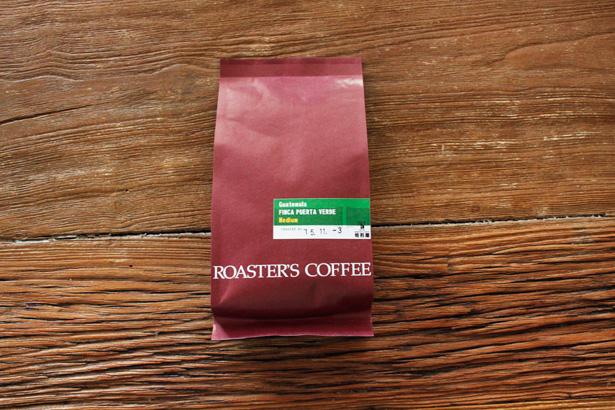福岡・平尾にあるROASTER'S COFFEE 焙煎屋のグアテマラ プエルタベルデ