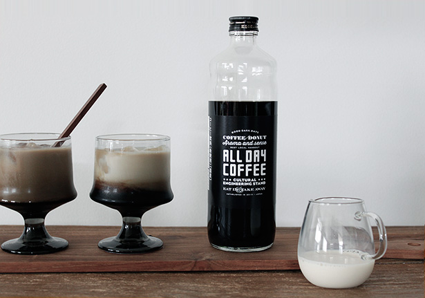 ALL DAY COFFEEのコーヒーミルクベースがオンラインでも発売開始!ということで、早速飲んでみました。