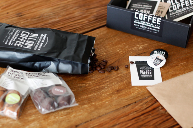 ALL DAY COFFEEの限定『Coffee Gift Box』 ALL DAY COFFEEブレンド豆