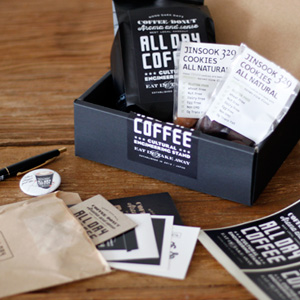 ALL DAY COFFEEの限定『Coffee Gift Box』!