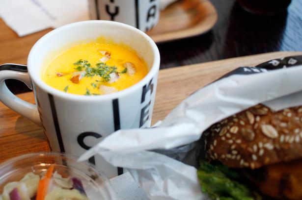 THE CITY BAKERY BAR & BURGER RUBIN(福岡)スープ