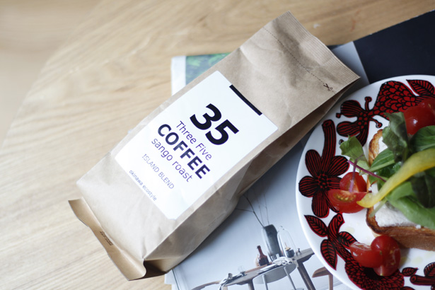 サンゴロースト35コーヒーのアイランドブレンド