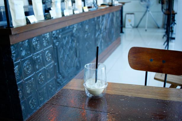 BASKING COFFEE アイス・カフェラテ