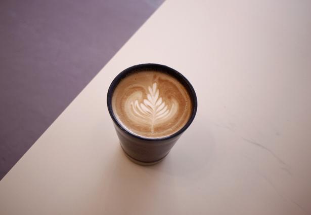 COFFEE COUNTY 高砂店 カフェラテ