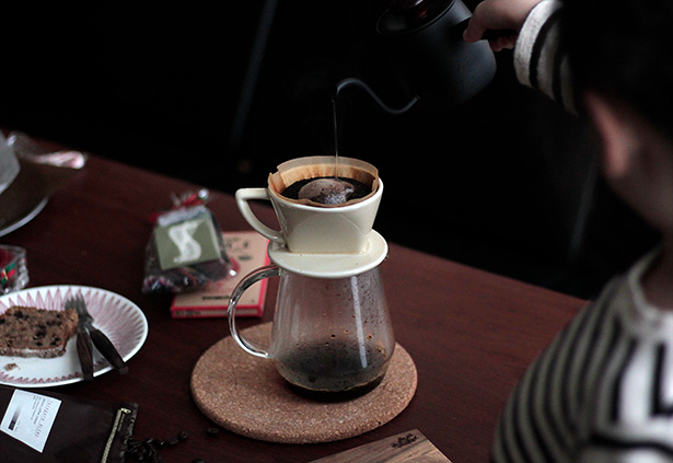 秋元珈琲焙煎所のブレンドコーヒー