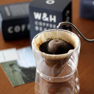 WIFE&HUSBAND のコーヒー、 『エチオピア』とブレンド『DAUGHTER』