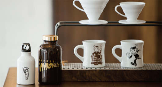 コーヒーイノベートのドリッパースタンド