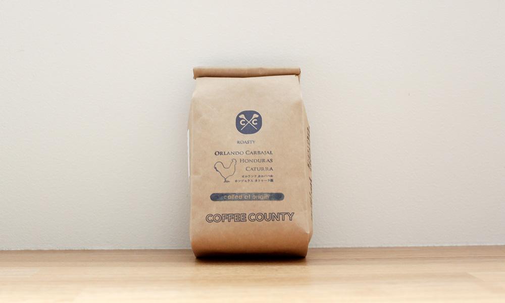 COFFEE COUNTY ホンジュラス『オルランドロースティ』
