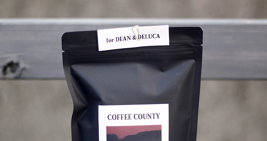 COFFEE COUNTY  『BLEND NOIR』for DEAN & DELUCA