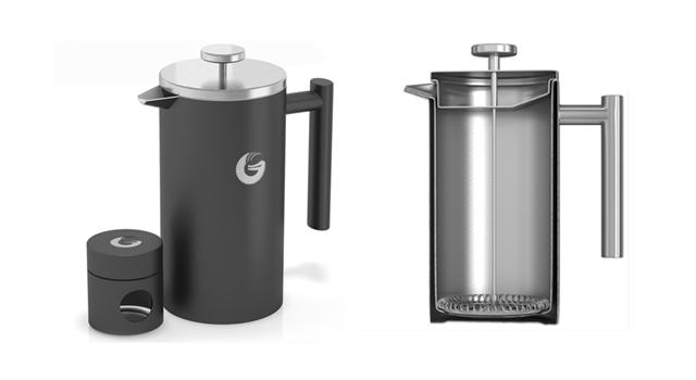 COFFEE GATOR コーヒーゲーター French Press Coffee Maker フレンチプレス コーヒーメーカー
