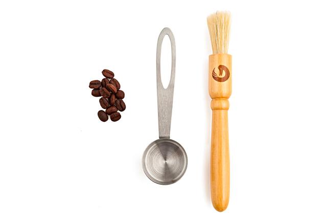 COFFEE GATOR コーヒーゲーター Coffee Grinder Brush and Scoop コーヒーグラインダーブラシ & スクープ