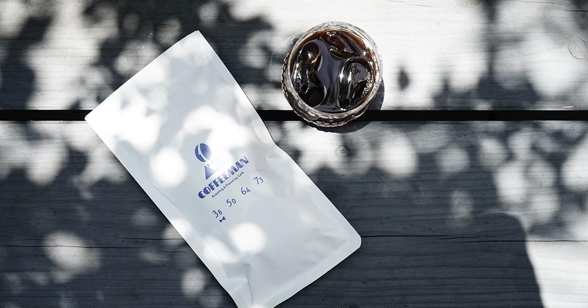 COFFEEMAN  水出しアイスコーヒー『3.8 Blend』