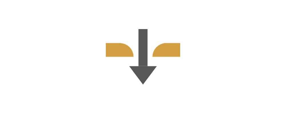 Cores(コレス)ゴールドフィルター エッチング加工