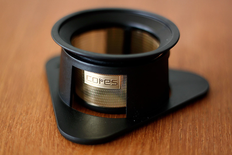 cores(コレス)シングルカップゴールドフィルター