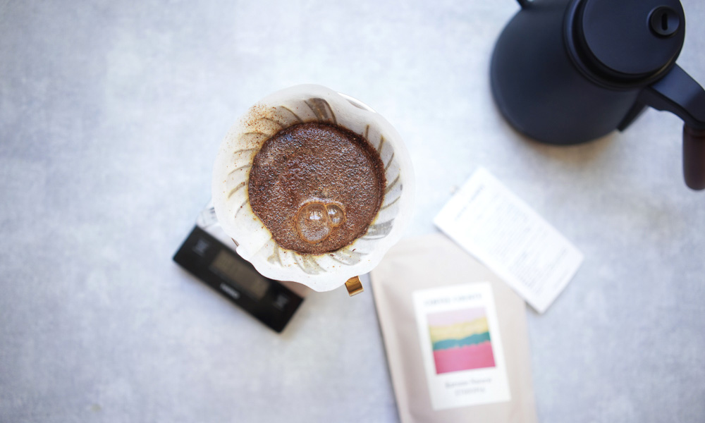 COFFEE COUNTY エチオピア Bensa KURUME Natural