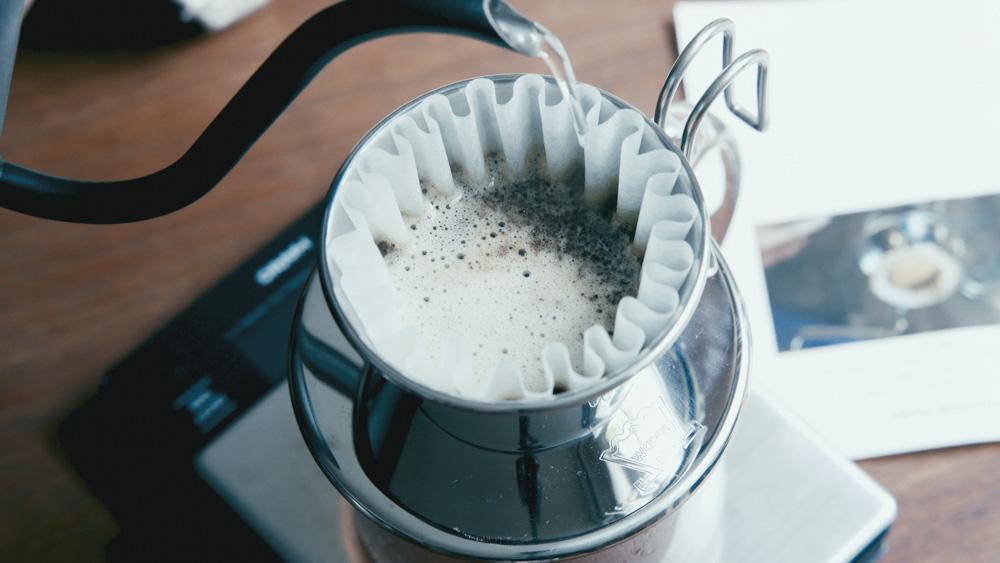 COFFEE COUNTY ドリップの方法
