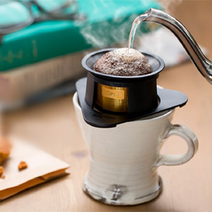 cores(コレス)から、1杯用のシングルカップゴールドフィルターが登場です。