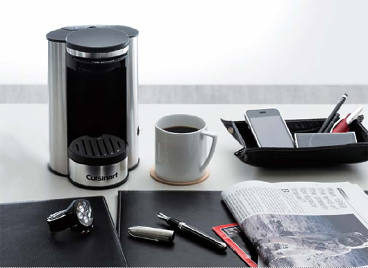 Cuisinart(クイジナート)1-カップコーヒーメーカー ブラック・ホワイト