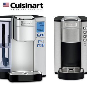 cuisinart(クイジナート)から、コーヒー&ホットドリンクメーカーが登場してます。