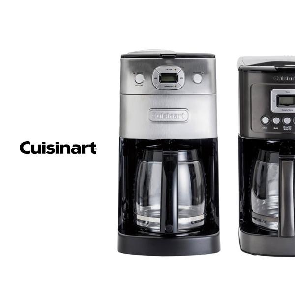 クイジナートから、大容量の全自動コーヒーメーカーが登場。