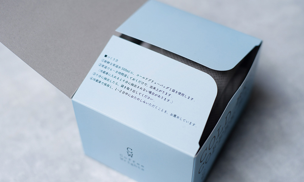 Coffee Wrights  エチオピア『COLD BREW COFFEE BAGS』