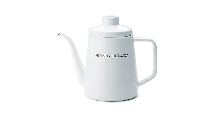 DEAN & DELUCA ホーローケトル ホワイト 1L