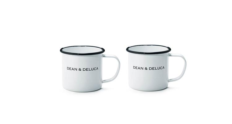 DEAN & DELUCA ホーローマグカップ ホワイト 240cc
