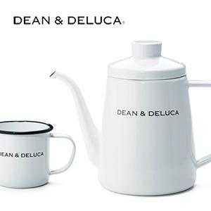 DEAN & DELUCA のホーローケトルとカップ