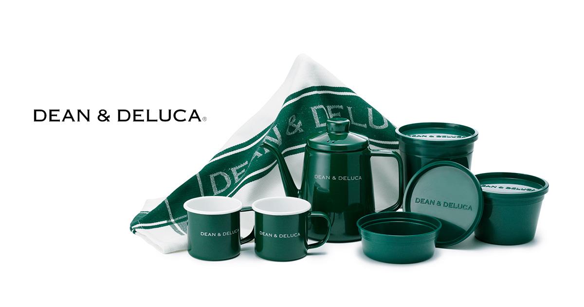 DEAN & DELUCA 2018年春夏限定カラー グリーン