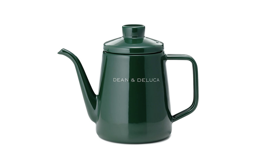 DEAN & DELUCA ホーローケトル グリーン 1L