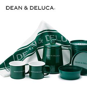 DEAN & DELUCA、ホーローケトルやマグカップなどに春夏限定カラー『グリーン』が登場!
