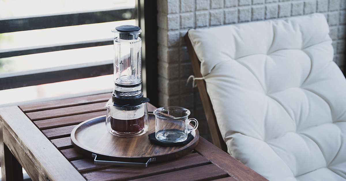 DELTER COFFEE PRESS って、いい!  レビューとエアロプレスとの比較。