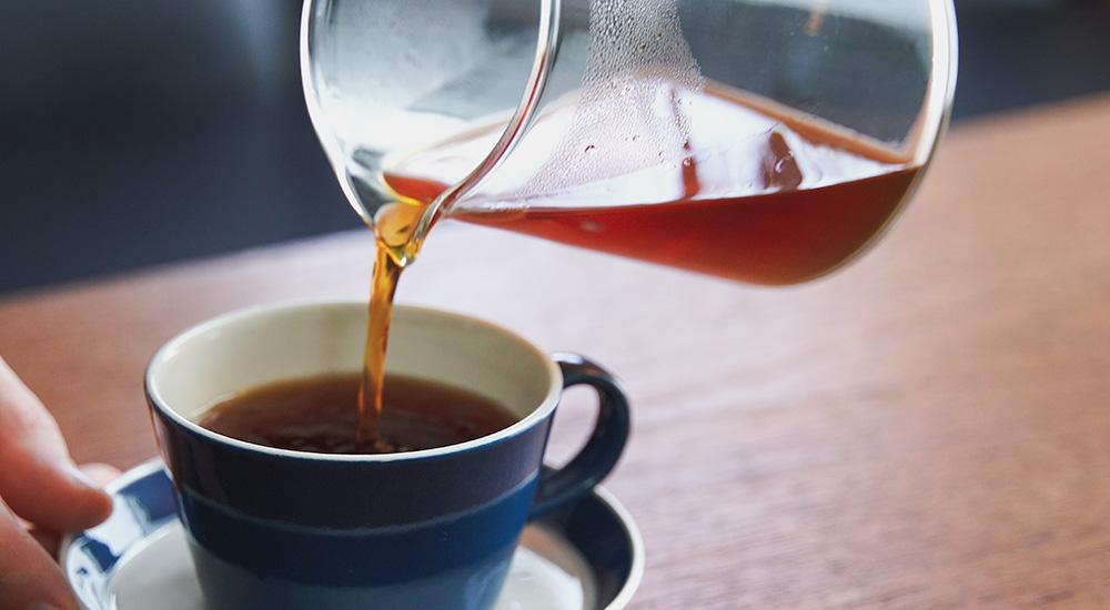 DELTER COFFEE PRESS /デルター コーヒー プレスで淹れたコーヒー