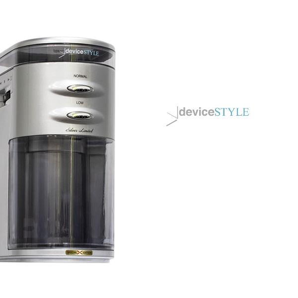 デバイスタイルのコーヒーグラインダー『Brunopasso GA-1X』、Limited版のシルバー発売です。
