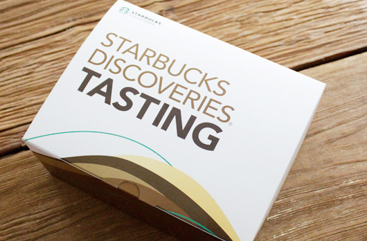STARBUCKS DISCOVERIES(R) TASTING