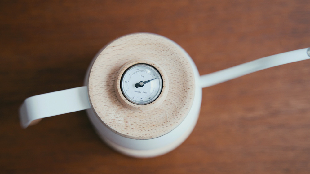 ドリップポット 温度計
