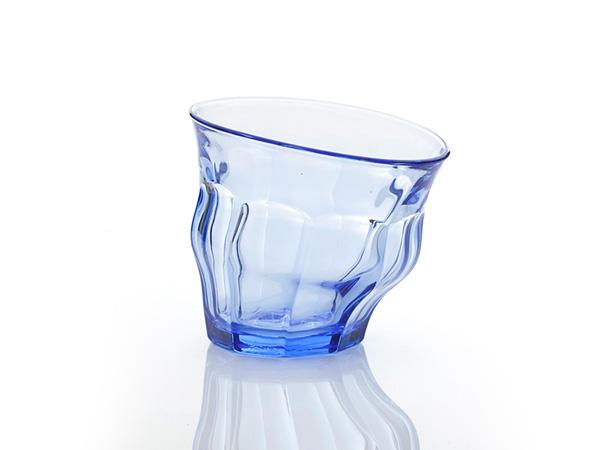 Duralex TIPSY GLASS ブルー