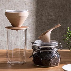 デザイン事務所プロデュース、『eN』のコーヒーグッズが素敵です。