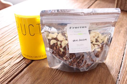 【クリスマス限定】Fructus(フラクタス)の   『ホワイトチョコ&コーヒーグラノーラ』
