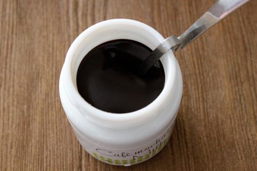 St.Cousair(サンクゼール)の冬季限定 カフェモカミルクジャム
