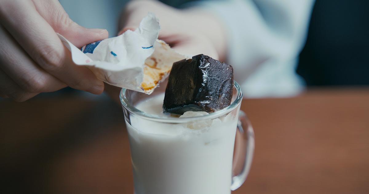 開けてすぐにエスプレッソ!  LIGHT UP COFFEEの【エスプレッソキューブ】