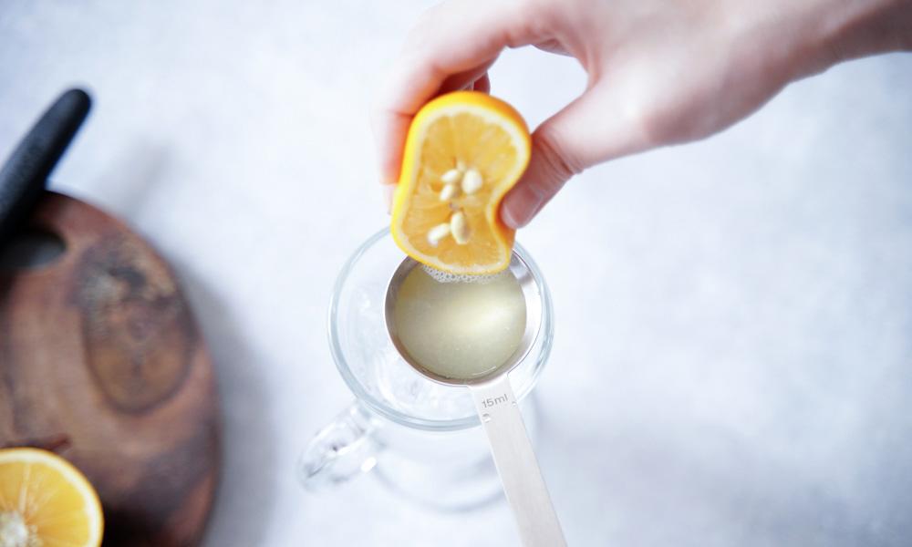 ペリエ レモン汁