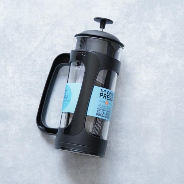 微粉を感じない!?   ESPRO/エスプロのコーヒーフレンチプレスを使う。