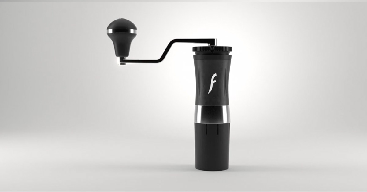 Flair Espresso のコーヒーグラインダー  【The Royal Grinder】が発売開始!