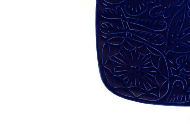 イイホシユミコ×鹿児島睦の「Floro」 B・B・B POTTERS オリジナルカラー『コーンフラワーブルー』