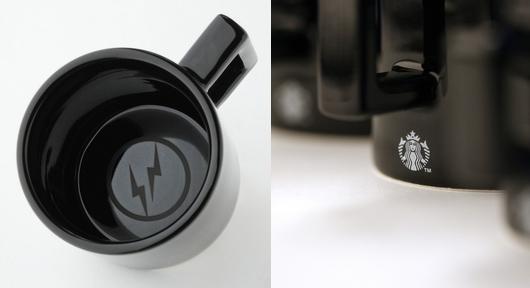 スターバックスコーヒー 店舗限定 フラグメントデザインのマグカップ