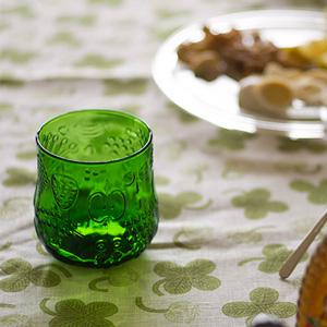 スコープ別注、イッタラ フルッタのグラスに新色『グリーン』登場!文句なくかわいい。